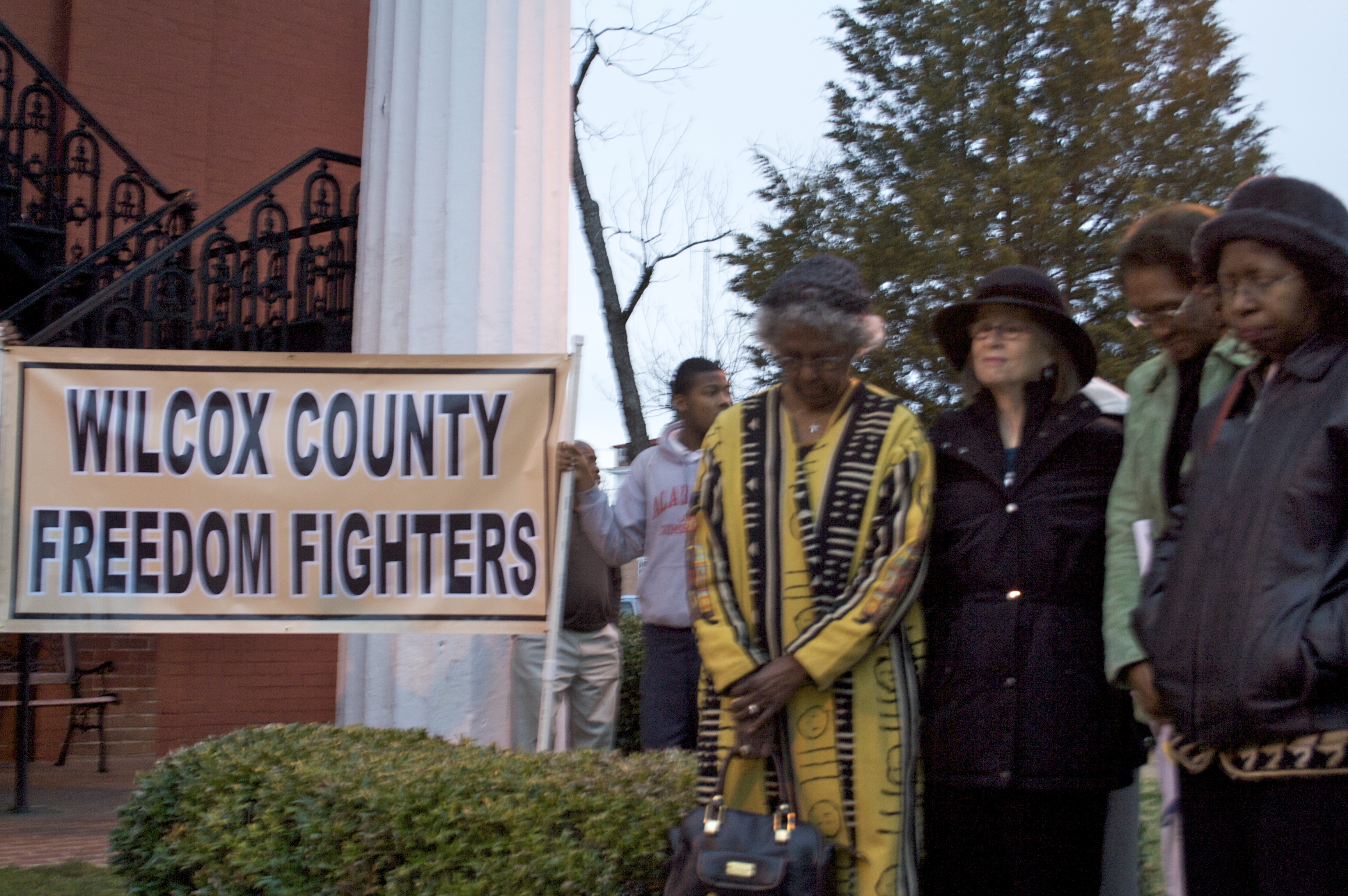 Alabama wilcox county camden - Memorial For Civil Rights Activists At Wilcox County Courthouse