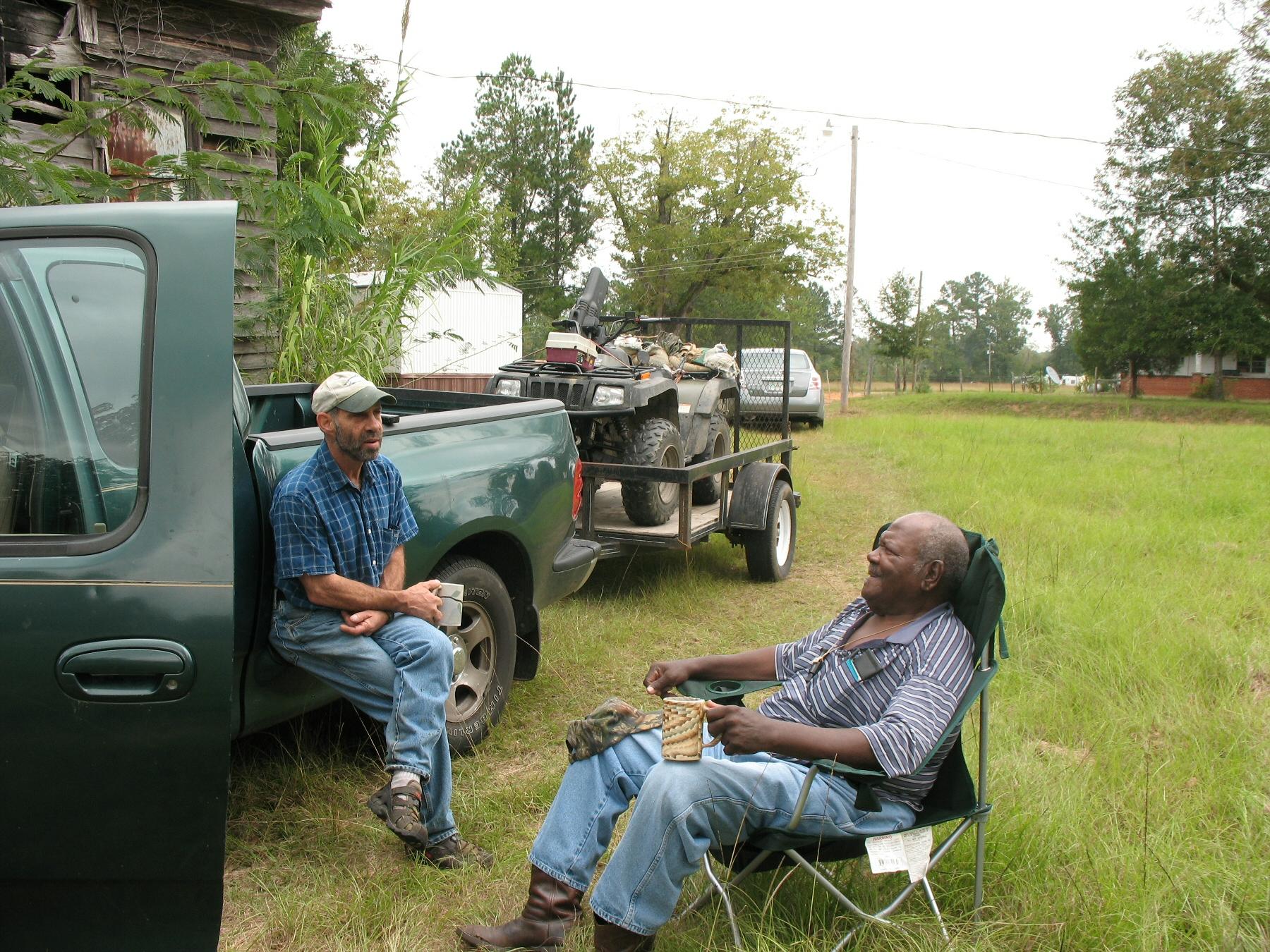 Alabama wilcox county camden - Luke Bob Block And Bob Crawford Jr Remenisce In Pine Apple 2008