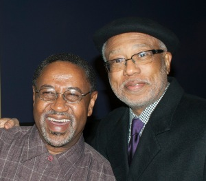 Lewis V Baldwin with lifetime friend & colleague Walter J Fluker