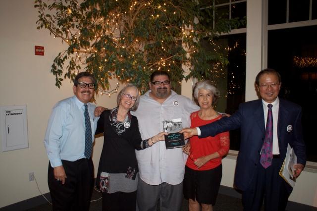 Daniel Dodge Sr, Maria Gitin, Felipe Hernandez, Mavel Arujo and George Ow Jr NAACP Banquet 2014