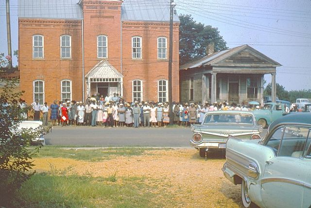 Evidence of need for federal registrars under new Voting Rights Act. August 1965. J Worcester photo.