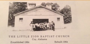 Little Zion Missionary Baptist Church, Coy AL