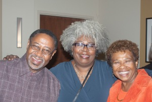 Lewis V Baldwin, Anthea Butler and Barbara A Holmes at Baldwin's Vanderbilt University Retirement Celebration 2014