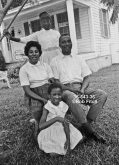 Ann Braxton, Tax Assessor Candidate, Marengo County AL 1966 with family in Demopolis